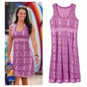 Athleta Vyasa Dress Berry Medium